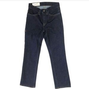 Imogene + Willie 24 Crop Selvedge Dark Jeans a0